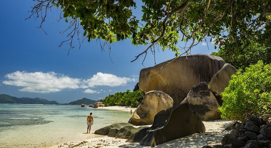 Seychelles is a land of dream beaches in East Africa
