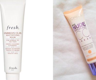 Face Mask and Colour Correcting Cream