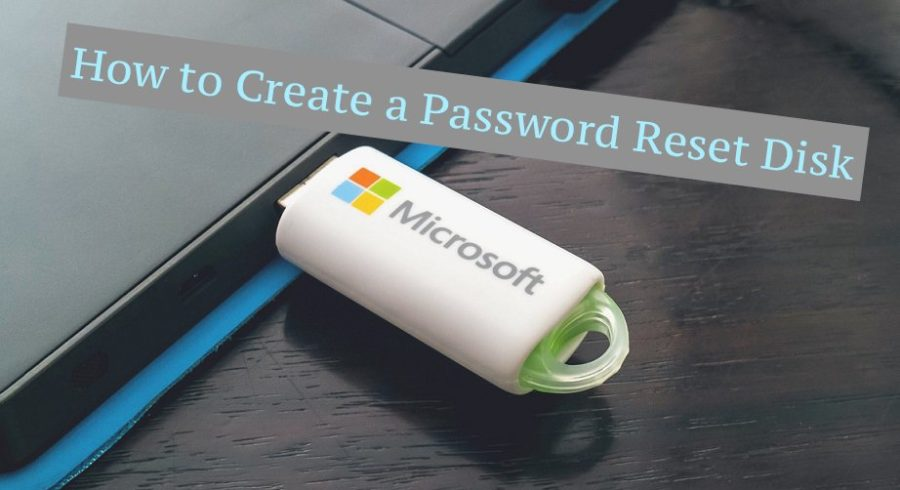 password reset disk