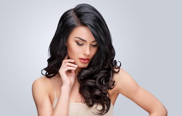 Clean Hair Model pic